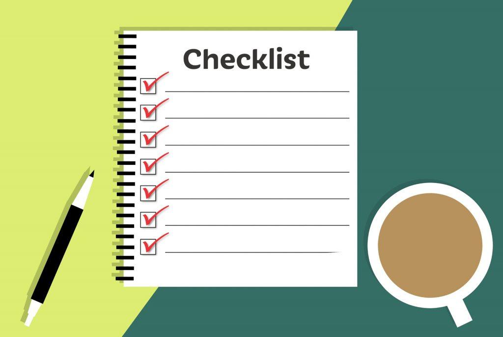 pharmacy technician checklist