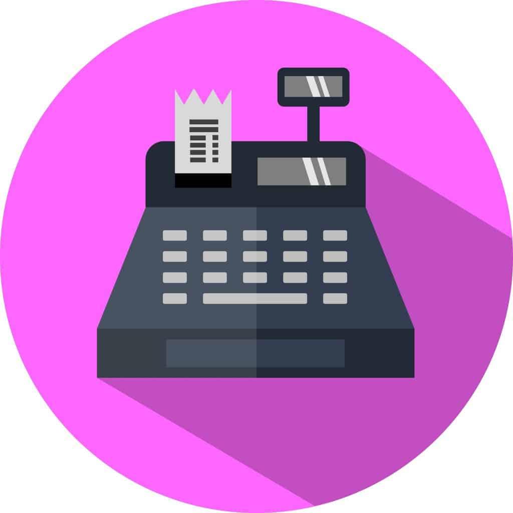 pharmacy technician cash register image